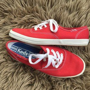 Keds red sneakers - size 6